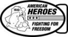 Ace Recognition Gold Buckle - with your text and logo - Military - Fallen Soldier Memorial - Iraq - American Flag - American Heroes - Fighting For Freedom, metal, navy