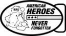 Ace Recognition Gold Buckle - with your text and logo - Military - Fallen Soldier Memorial - Iraq - American Flag - American Heroes - Never Forgotten, metal, navy