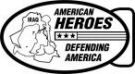 Ace Recognition Gold Buckle - with your text and logo - Military - Fallen Soldier Memorial - Iraq - American Flag - American Heroes - Defending America, metal, navy