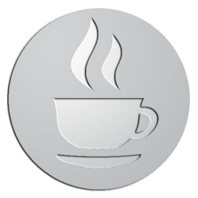 Custom Plaque - customized and personalized your way - coffee, hot beverages, tea, hot chocolate, beverages
