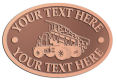 Ace Recognition Copper Crest, Lapel, Plaque - with your text and logo - dump trucks, standard dump trucks, trucks, construction vehicles, dumper, tip trucks, tipper lorry, tipper trucks, tippers, tipper lorries, transportation
