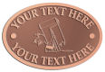 Ace Recognition Copper Crest, Lapel, Plaque - with your text and logo - painting tools, interior designs, painting, paint rollers, paint brush, paint brushes, paint contractors, painting contractors, painting professionals