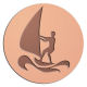 Ace Recognition Copper Buckle, Coin, KeyTag, Lapel, Medal, Pendant, Plaque - with your text and logo - sail, sailboat, sea, seascape, ship, transportation, travel, tropical, vacations, vessel, wave, freedom, , nature, nautical, ocean, recreational, reflection, relaxation