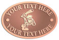 Ace Recognition Copper Crest, Lapel, Plaque - with your text and logo - Cavemen, caveman, prehistoric, primal