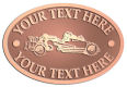 Ace Recognition Copper Crest, Lapel, Plaque - with your text and logo - road grader, mining equipment, grader, heavy equipment, earthmovers, earth movers