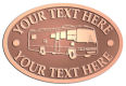 Ace Recognition Copper Crest, Lapel, Plaque - with your text and logo - RV, RVs, Recreational Vehicles, Motorhomes, motors, motor-homes, motorhomes, recreation, recreational, retire, retirement, tours, trailers, transportation, travel, travelers, trips, trucks, vacations, vans, vehicles, voyages, wheels