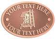 Ace Recognition Copper Crest, Lapel, Plaque - with your text and logo - roofing, roofers, ladders, shingles, hammers, contractors