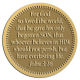 Ace Recognition Gold Coin, Lapel, Plaque - with your text and logo - Christian Designs - For God so loved the world, that he gave his only begotten Son, that whosoever believeth in him should not perish, but have everlasting life.  John 3:16