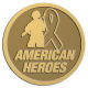 Ace Recognition Gold Coin, Lapel, Plaque - with your text and logo - Military - American heroes - soldier - ribbon, metal, navy