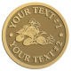 Ace Recognition Gold Coin, Lapel, Plaque - with your text and logo - all terrain vehicles, atv, atvs, off road, off-road, 4-wheeler, atv, bike,drive, fast, four, machine, motocross, off-road, power, powerful, quad, race, red, ride, road, sky, sport, tires, tool, traction, trail, transport, transportation, wheel