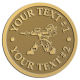 Ace Recognition Gold Coin, Lapel, Plaque - with your text and logo - paint balls, paint guns, paint, paintball, paintballer, paintballing, fun, game, gun, hit, hobby, recreation, sports
