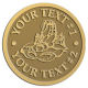 Ace Recognition Gold Coin, Lapel, Plaque - with your text and logo - lobsters, seafood, shellfish, claws