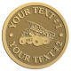 Ace Recognition Gold Coin, Lapel, Plaque - with your text and logo - dump trucks, standard dump trucks, trucks, construction vehicles, dumper, tip trucks, tipper lorry, tipper trucks, tippers, tipper lorries, transportation