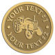 Ace Recognition Gold Coin, Lapel, Plaque - with your text and logo - tractors, farm equipment, farm machinery, farm machines, field implements, farm implements