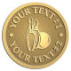 Ace Recognition Gold Coin, Lapel, Plaque - with your text and logo - bowling, bowling pins, bowling balls, bowling-ball, games,  kingpin, lane, leisure, pins, sport