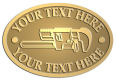 Ace Recognition Gold Crest, Lapel, Plaque - with your text and logo - Pipe wrenches, wrenches, wrench, tools, plumbers, plumbing