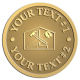 Ace Recognition Gold Coin, Lapel, Plaque - with your text and logo - home renovations, home remodelling, carpentry, levels, saws, woodworking, tools, trades, carpenters