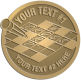 Ace Recognition Gold Coin, Lapel, Plaque - with your text and logo - crossword puzzles, recreation, challenge, brainstorming, word puzzles, ability, activity, brainteasers, clues, newspapers, vocabulary, quiz, spelling, competition, contemplation, mental
