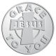 Ace Recognition Pewter Coin, Lapel, Plaque - with your text and logo - Christian - Jesus - Grace to you -cross - love - faith - religion  religious, , metal