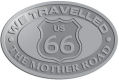 Ace Recognition Pewter Crest, Lapel, Plaque - with your text and logo - Route 66 - US 66 - historic - the mother road, route 66, route sixty six, route sixty-six, historic highway, historic road, mother road, metal