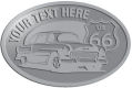 Ace Recognition Pewter Crest, Lapel, Plaque - with your text and logo - Car designs - US route 66 - vintage cars - classic cars - roadster - your text, route 66, route sixty six, route sixty-six, historic highway, historic road, mother road, transportation