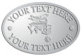Ace Recognition Pewter Crest, Lapel, Plaque - with your text and logo - tourism, holidays, vacations, air travel, airplanes, globe, cruise lines, travel, travelling, luxury travel, cruises