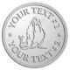 Ace Recognition Pewter Coin, Lapel, Plaque - with your text and logo - Sports, mascots, sports, walrus, sea creatures, teams, high school, college, university
