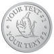 Ace Recognition Pewter Coin, Lapel, Plaque - with your text and logo - Sports, mascots, fish, sharks, high school, college, university