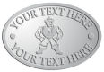 Ace Recognition Pewter Crest, Lapel, Plaque - with your text and logo - Sports, mascots, martial arts, warriors, high school, college, university