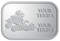 Ace Recognition Pewter Crest, Lapel - with your text and logo - all terrain vehicles, atv, atvs, off road, off-road, 4-wheeler, atv, bike,drive, fast, four, machine, motocross, off-road, power, powerful, quad, race, red, ride, road, sky, sport, tires, tool, traction, trail, transport, transportation, wheel