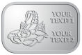 Ace Recognition Pewter Crest, Lapel, Plaque - with your text and logo - lobsters, seafood, shellfish, claws