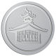 Ace Recognition Pewter Coin, Lapel, Plaque - with your text and logo - Oriental, Pagoda, architecture, asia, japan, china, temple, building