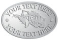 Ace Recognition Pewter Crest, Lapel, Plaque - with your text and logo - snow plows, plows, snow removal, road equipment, heavy equipment