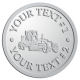 Ace Recognition Pewter Coin, Lapel, Plaque - with your text and logo - graders, machinery, road equipment, heavy equipment, highway maintenance