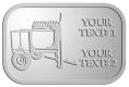 Ace Recognition Pewter Crest, Lapel, Plaque - with your text and logo - cement mixers, concrete mixers, masonry mixers, concrete, mortar