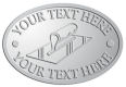 Ace Recognition Pewter Crest, Lapel, Plaque - with your text and logo - hand tools, tools, plastering planes, lathes, stucco, plaster