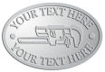 Ace Recognition Pewter Crest, Lapel, Plaque - with your text and logo - Pipe wrenches, wrenches, wrench, tools, plumbers, plumbing