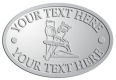 Ace Recognition Pewter Crest, Lapel, Plaque - with your text and logo - home renovations, home remodelling, carpentry, levels, saws, woodworking, tools, trades, carpenters, tape measures, hammers