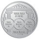 Ace Recognition Pewter Buckle, Coin, KeyTag, Lapel, Medal, Pendant, Plaque - with your text and logo - greek pillars, greek temples, laurel, greek motifs