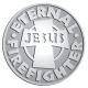 Ace Recognition Pewter Coin, Lapel, Plaque - with your text and logo - Christian - Jesus - Eternal firefighter - cross - love - faith - religion  religious, metal