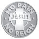 Ace Recognition Pewter Coin, Lapel, Plaque - with your text and logo - Christian - Jesus - no pain no reign - cross - love - faith - religion  religious, metal