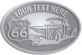 Ace Recognition Pewter Crest, Lapel, Plaque - with your text and logo - Truck designs - US route 66 - vintage trucks - classic trucks - trucks - pickup - your text, route 66, route sixty six, route sixty-six, historic highway, historic road, mother road