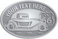 Ace Recognition Pewter Crest, Lapel, Plaque - with your text and logo - Car designs - US route 66 - vintage cars - classic cars - truck - pickup - your text, route 66, route sixty six, route sixty-six, historic highway, historic road, mother road, transportation