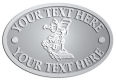 Ace Recognition Pewter Crest, Lapel, Plaque - with your text and logo - landscapers, landscaping, lawn technicians, lawn service, yard maintenance, gardening, rakes, watering cans, lawn mowers, garden shears, landscape design