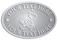 Ace Recognition Pewter Crest, Lapel, Plaque - with your text and logo - Sports, mascots, sports, birds, teams, high school, college, university