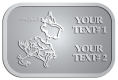 Ace Recognition Pewter Crest, Lapel - with your text and logo - Sports, mascots, sports, birds, teams, high school, college, university