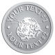 Ace Recognition Pewter Coin, Lapel, Plaque - with your text and logo - Sports, mascots, sports, animals, cats, tigers, felines, teams, high school, college, university