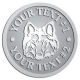 Ace Recognition Pewter Coin, Lapel, Plaque - with your text and logo - Sports, mascots, sports, animals, dogs, canines, teams, high school, college, university