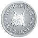 Ace Recognition Pewter Coin, Lapel, Plaque - with your text and logo - Sports, mascots, animals, high school, college, university