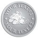 Ace Recognition Pewter Coin, Lapel, Plaque - with your text and logo - all terrain vehicles, atv, atvs, off road, off-road, 4-wheeler, atv, bike,drive, fast, four, machine, motocross, off-road, power, powerful, quad, race, red, ride, road, sky, sport, tires, tool, traction, trail, transport, transportation, wheel